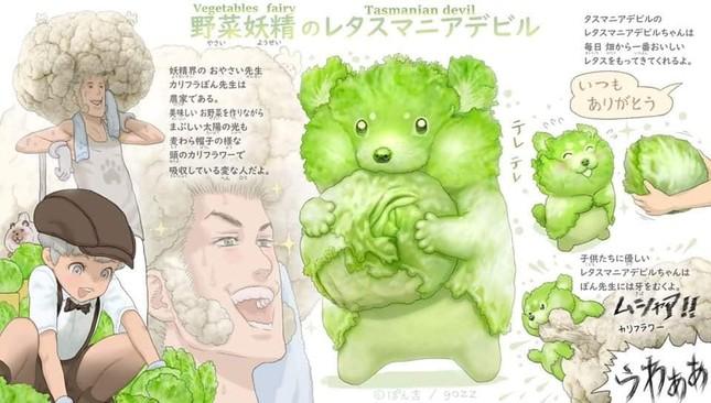 Khi các loài động vật hóa thành... rau củ thì sẽ trông như thế nào nhỉ? ảnh 10