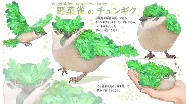 Khi các loài động vật hóa thành... rau củ thì sẽ trông như thế nào nhỉ? ảnh 8