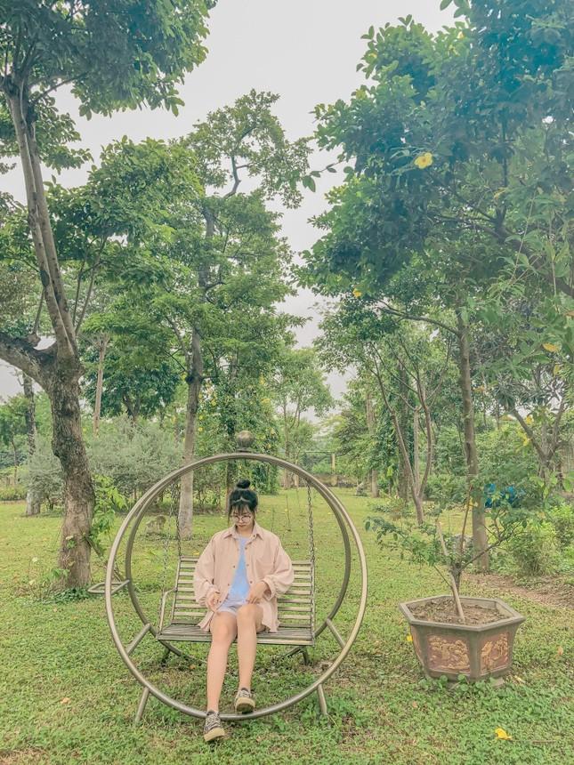 """Học viện Nông nghiệp Việt Nam sở hữu không gian tràn ngập sắc hoa, tha hồ """"sống ảo"""" ảnh 7"""