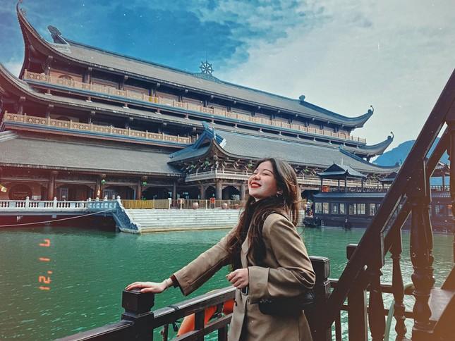 Du Xuân đầu năm tại ngôi chùa lớn nhất Việt Nam, phong cảnh yên bình và đẹp như một thước phim điện ảnh ảnh 3