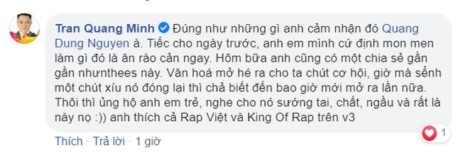 """Đạo diễn Nguyễn Quang Dũng nói về """"Rap Việt"""": """"Nghệ sĩ sáng tác hãy cẩn thận, dè chừng"""" ảnh 4"""