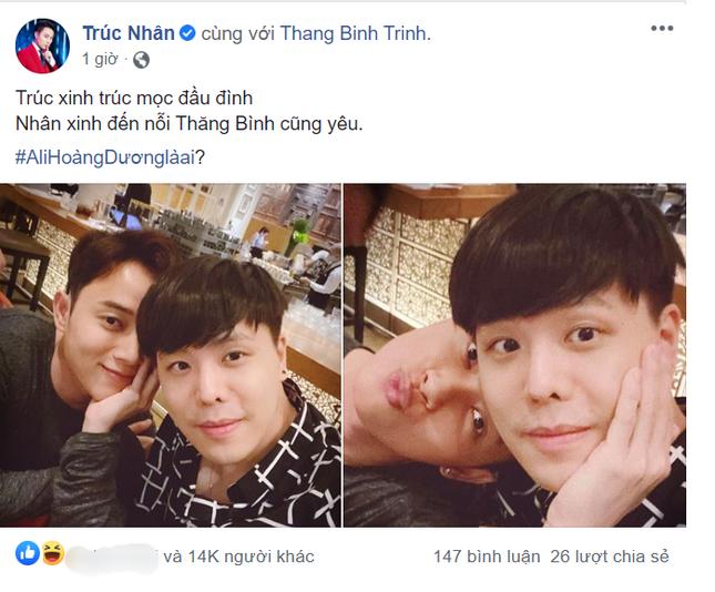 """Hậu chia tay Liz Kim Cương, đây là người mà Trịnh Thăng Bình đang """"thầm thương trộm nhớ""""? ảnh 1"""
