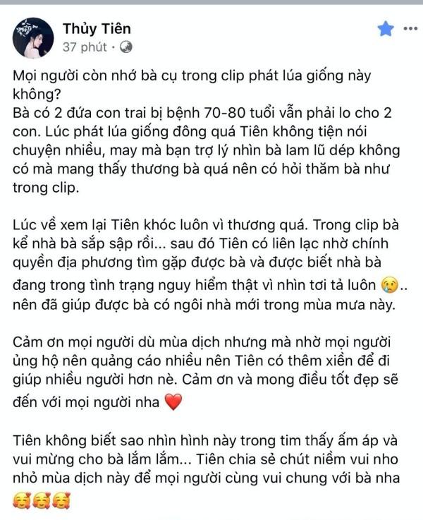 """Sao Việt 24H: Trấn Thành hội ngộ anh em """"Rap Việt"""", Thủy Tiên giúp đỡ cụ bà xây lại nhà ảnh 5"""