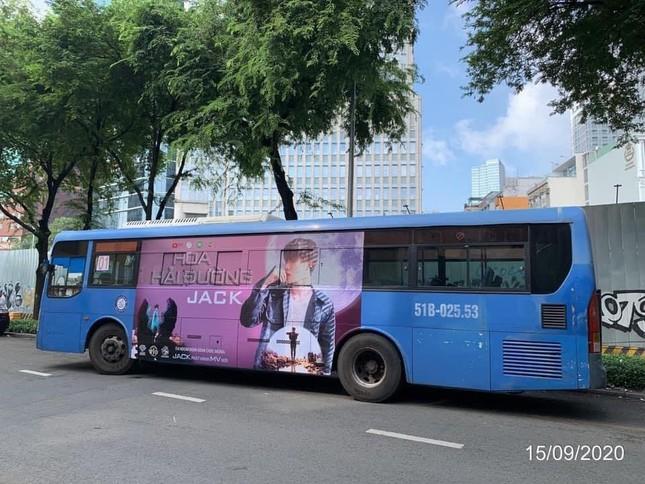 """Fan ủng hộ Jack """"không tiếc tay"""", poster MV mới xuất hiện trên con đường lớn ở Bến Tre ảnh 5"""