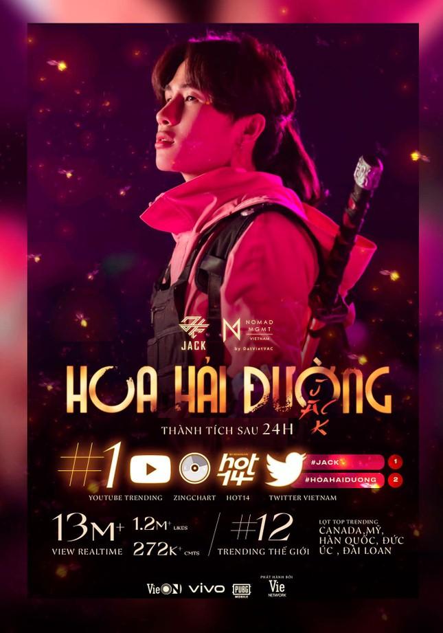 """MV """"Hoa Hải Đường"""" giành Top 1 iTunes Vietnam, nhận thêm """"cơn mưa"""" thành tích ảnh 2"""