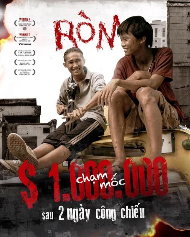 """""""Ròm"""" lập kỉ lục doanh thu phòng vé phim Việt năm 2020 sau 3 ngày công chiếu ảnh 2"""