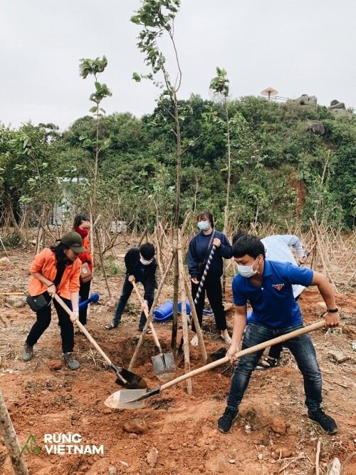"""Hà Anh Tuấn thực hiện dự án """"Rừng Việt Nam"""": Trồng 2 cánh rừng với hơn 1.800 cây xanh ảnh 5"""