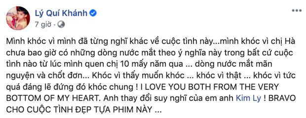 """Hàng loạt sao Việt """"bật khóc"""" cùng Hồ Ngọc Hà trước màn cầu hôn bất ngờ của Kim Lý ảnh 6"""