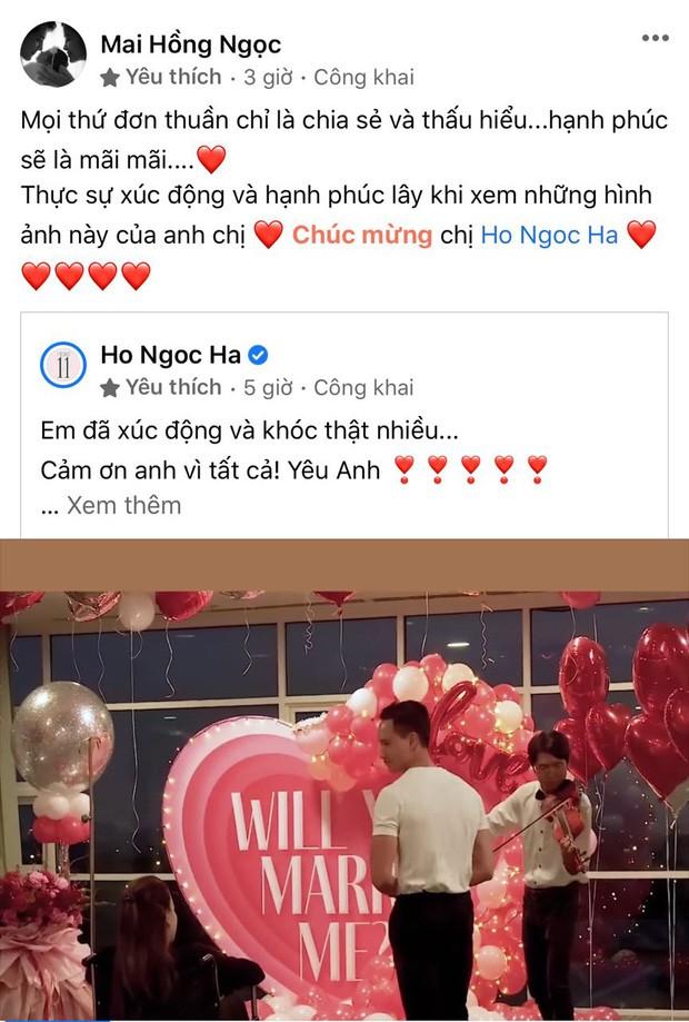 """Hàng loạt sao Việt """"bật khóc"""" cùng Hồ Ngọc Hà trước màn cầu hôn bất ngờ của Kim Lý ảnh 3"""