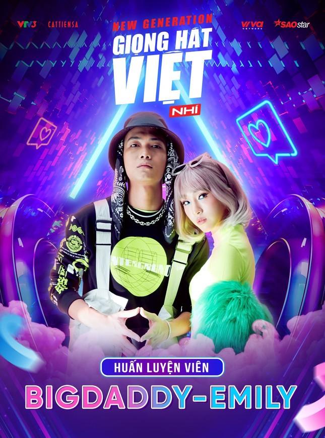 Netizen phấn khích khi nhà BigDaddy - Emily ngồi ghế huấn luyện viên Giọng hát Việt nhí ảnh 2