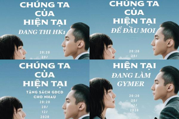 """Muôn kiểu poster phiên bản """"Chúng Ta Của Hiện Tại"""" khiến netizen cạn lời vì quá... đúng ảnh 5"""