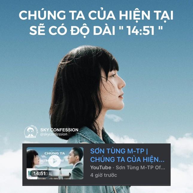 """Hé lộ thời lượng MV """"Chúng Ta Của Hiện Tại"""", Sơn Tùng M-TP bị fan tố... """"ki bo"""" ảnh 1"""