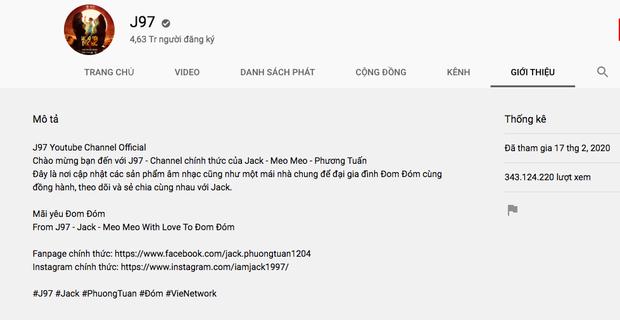 """""""Chào đời"""" muộn gần 3 năm nhưng kênh YouTube của Jack vừa vượt mặt K-ICM ảnh 1"""
