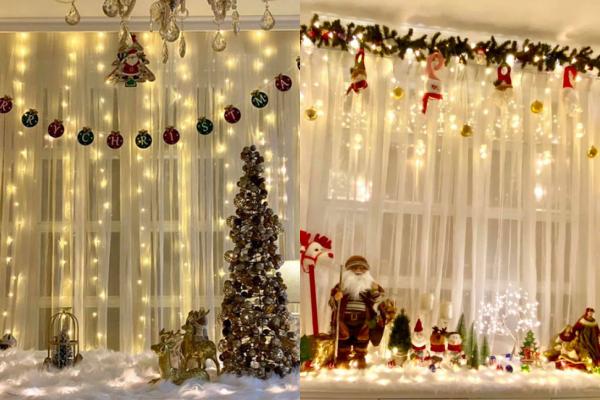 Sao Việt nô nức khoe ảnh trang hoàng nhà cửa lung linh chào đón Giáng sinh 2020 ảnh 6