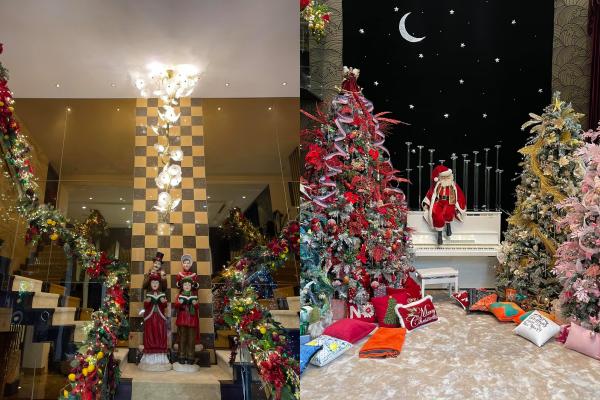 Sao Việt nô nức khoe ảnh trang hoàng nhà cửa lung linh chào đón Giáng sinh 2020 ảnh 12