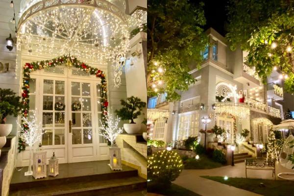 Sao Việt nô nức khoe ảnh trang hoàng nhà cửa lung linh chào đón Giáng sinh 2020 ảnh 5