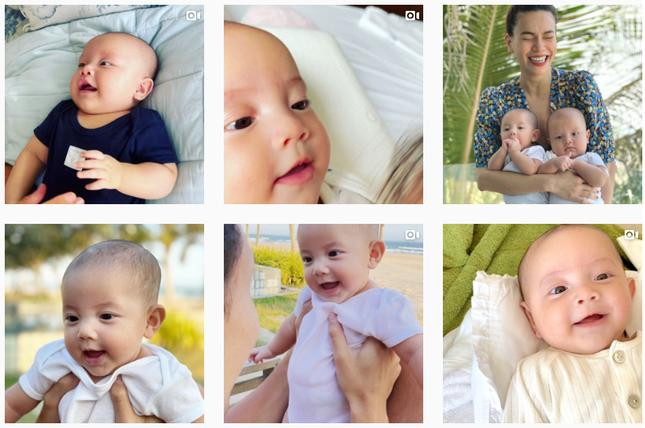 """""""Thế lực nhí"""" của V-Biz bất ngờ chiếm sóng hơn cả bố mẹ trên mạng xã hội ảnh 7"""