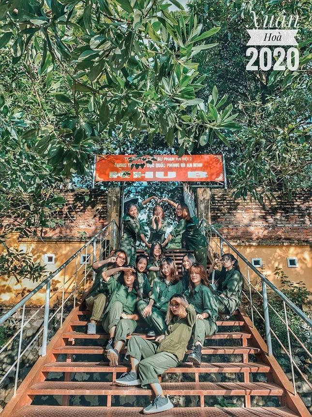 Kỳ quân sự đáng nhớ của sinh viên Đại học Kinh Tế Quốc Dân giữa mùa dịch COVID-19 ảnh 10
