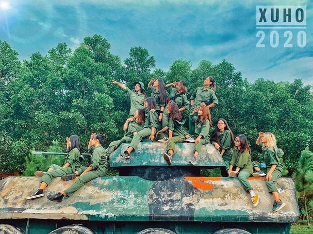 Kỳ quân sự đáng nhớ của sinh viên Đại học Kinh Tế Quốc Dân giữa mùa dịch COVID-19 ảnh 1