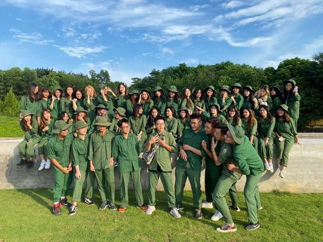 Kỳ quân sự đáng nhớ của sinh viên Đại học Kinh Tế Quốc Dân giữa mùa dịch COVID-19 ảnh 8
