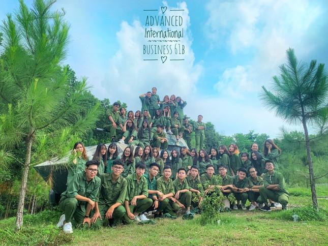 Kỳ quân sự đáng nhớ của sinh viên Đại học Kinh Tế Quốc Dân giữa mùa dịch COVID-19 ảnh 11
