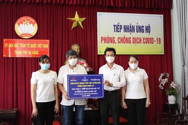BITEX Group truyền lửa Đà Nẵng và Quảng Nam với hành trình Tiếp sức tuyến đầu chống COVID ảnh 1