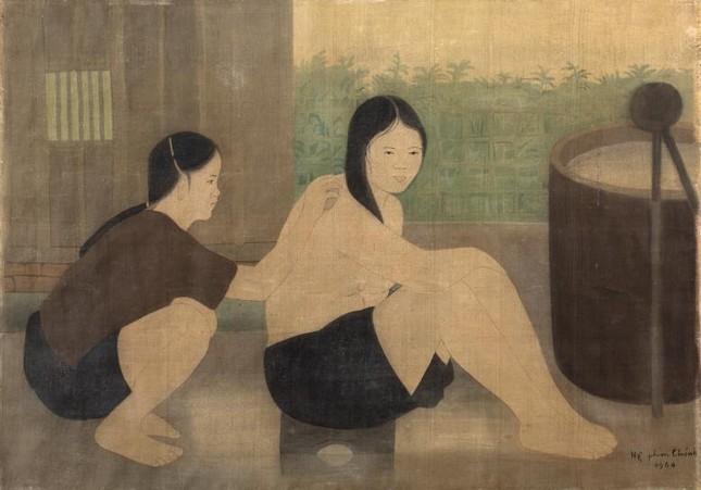 Hé lộ bức tranh của danh họa Lê Phổ vừa được bán với giá kỷ lục ở nước ngoài ảnh 6