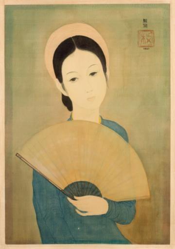 Hé lộ bức tranh của danh họa Lê Phổ vừa được bán với giá kỷ lục ở nước ngoài ảnh 5
