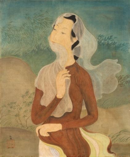 Hé lộ bức tranh của danh họa Lê Phổ vừa được bán với giá kỷ lục ở nước ngoài ảnh 4
