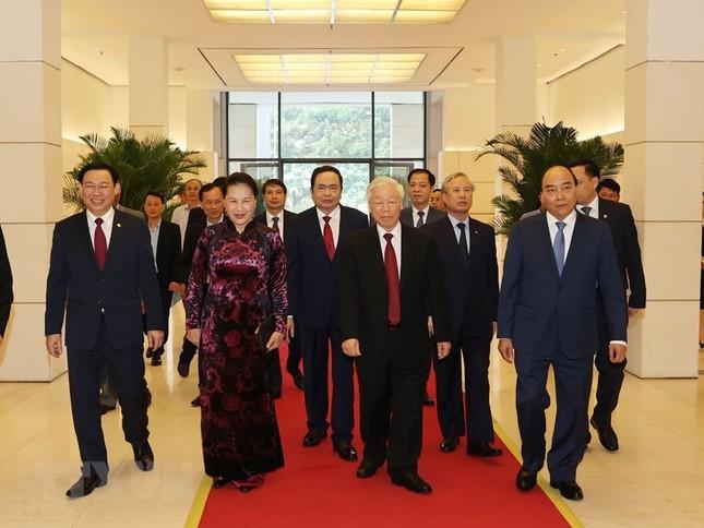 Tổng Bí thư, Chủ tịch nước dự Lễ kỷ niệm 90 năm thành lập Mặt trận Dân tộc thống nhất ảnh 1