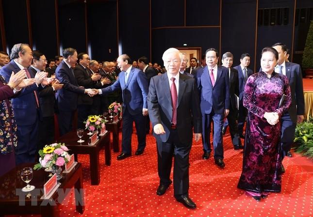 Tổng Bí thư, Chủ tịch nước dự Lễ kỷ niệm 90 năm thành lập Mặt trận Dân tộc thống nhất ảnh 2