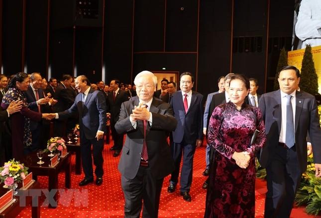 Tổng Bí thư, Chủ tịch nước dự Lễ kỷ niệm 90 năm thành lập Mặt trận Dân tộc thống nhất ảnh 4