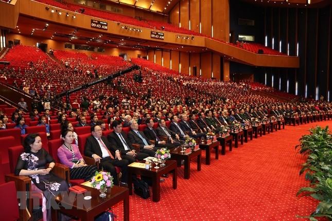Tổng Bí thư, Chủ tịch nước dự Lễ kỷ niệm 90 năm thành lập Mặt trận Dân tộc thống nhất ảnh 5
