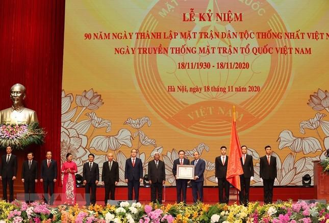 Tổng Bí thư, Chủ tịch nước dự Lễ kỷ niệm 90 năm thành lập Mặt trận Dân tộc thống nhất ảnh 8
