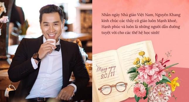 Nghệ sĩ Việt viết những lời biết ơn xúc động gửi tới thầy cô dịp 20/11 ảnh 6