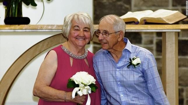 Cụ ông 84 tuổi làm đám cưới với tình đầu sau gần 7 thập kỉ xa cách gây xúc động ảnh 2