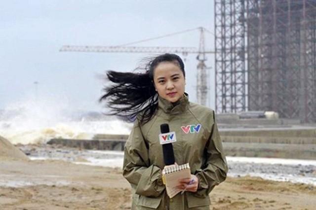 Nhan sắc BTV Thời tiết 9x dẫn bản tin Thời sự 19h ảnh 3