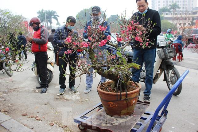 Chợ hoa dịp cận Tết và nỗi lòng người bán khi dịch COVID-19 bùng phát ảnh 3