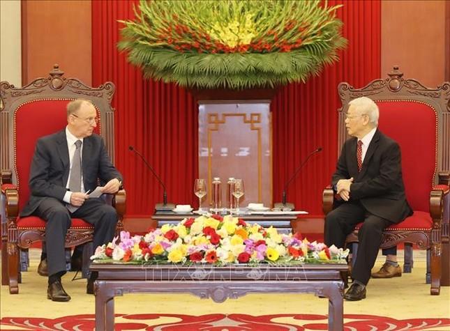 Tổng Bí thư, Chủ tịch nước Nguyễn Phú Trọng tiếp Thư ký Hội đồng An ninh Liên bang Nga ảnh 2