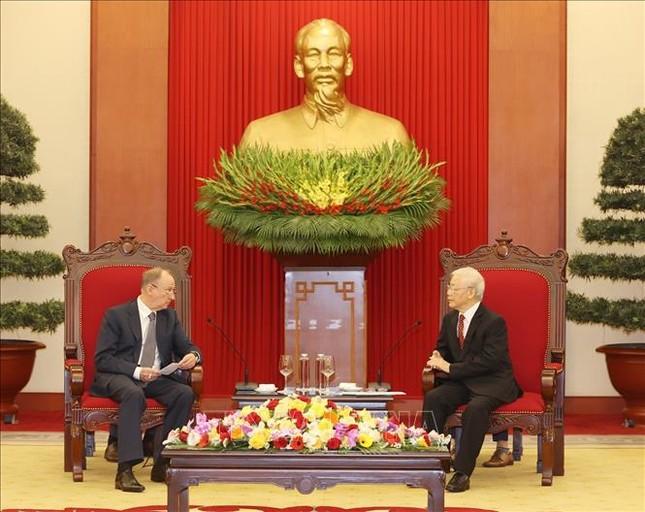 Tổng Bí thư, Chủ tịch nước Nguyễn Phú Trọng tiếp Thư ký Hội đồng An ninh Liên bang Nga ảnh 3