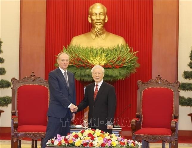 Tổng Bí thư, Chủ tịch nước Nguyễn Phú Trọng tiếp Thư ký Hội đồng An ninh Liên bang Nga ảnh 1