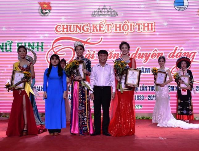 Nhan sắc hoa khôi Nữ sinh tài năng duyên dáng Tuyên Quang 2019 ảnh 1