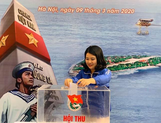 Thành Đoàn Hà Nội phát động hội thu ủng hộ 'Vì biển, đảo Việt Nam' ảnh 2