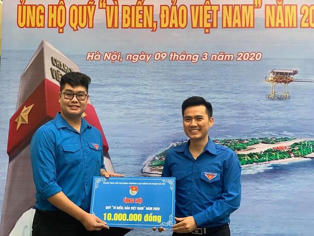 Thành Đoàn Hà Nội phát động hội thu ủng hộ 'Vì biển, đảo Việt Nam' ảnh 4