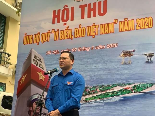Thành Đoàn Hà Nội phát động hội thu ủng hộ 'Vì biển, đảo Việt Nam' ảnh 1