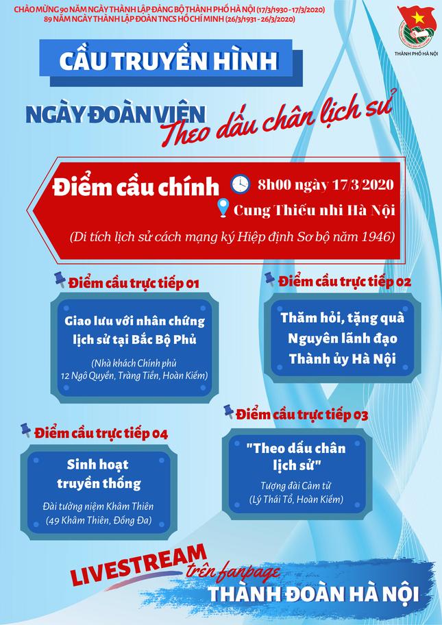 Lần đầu tiên Hà Nội tổ chức cầu truyền hình trực tuyến 'Ngày đoàn viên' ảnh 1