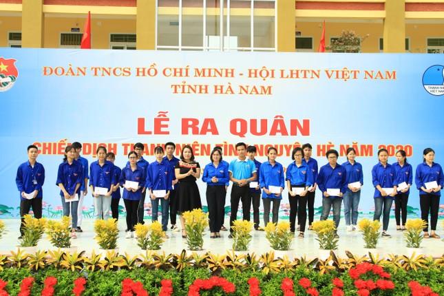 Tuổi trẻ Hà Nam khởi động Chiến dịch Thanh niên tình nguyện hè 2020 ảnh 5