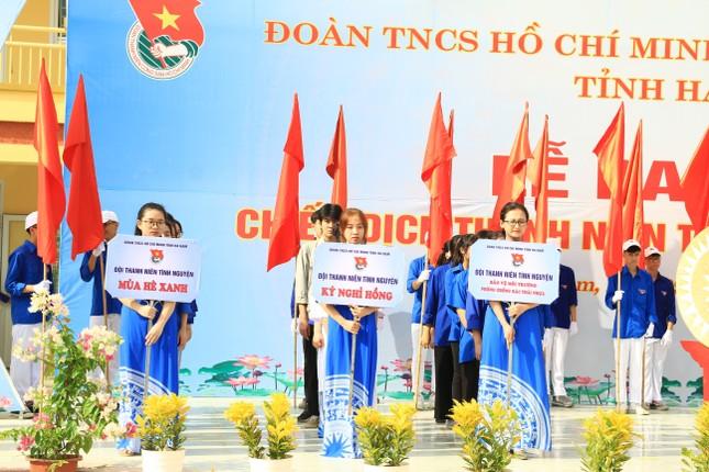 Tuổi trẻ Hà Nam khởi động Chiến dịch Thanh niên tình nguyện hè 2020 ảnh 6