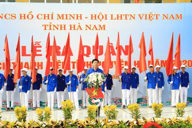 Tuổi trẻ Hà Nam khởi động Chiến dịch Thanh niên tình nguyện hè 2020 ảnh 3