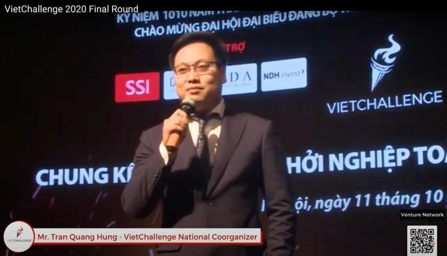 Tìm ra quán quân cuộc thi Thử thách khởi nghiệp VietChallenge 2020 ảnh 1